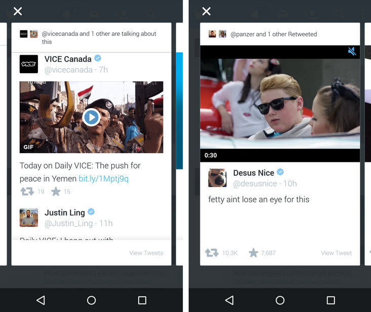twitter highlights llega a Android1