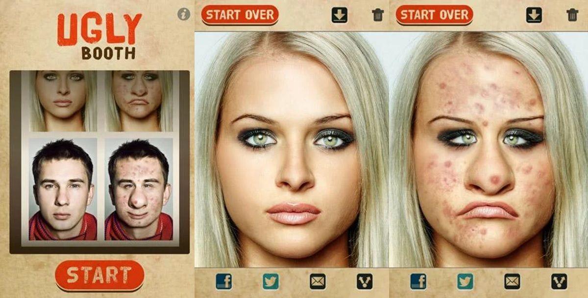 uglybooth app