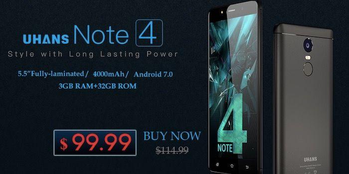 Comprar Uhans Note 4 por 85 euros