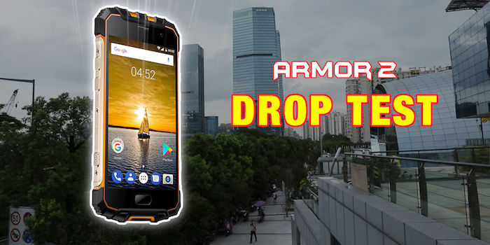 Ulefone Armor 2: Test de resistencia