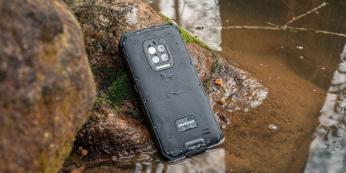 ulefone armor 9E teléfono resistente buena cámara