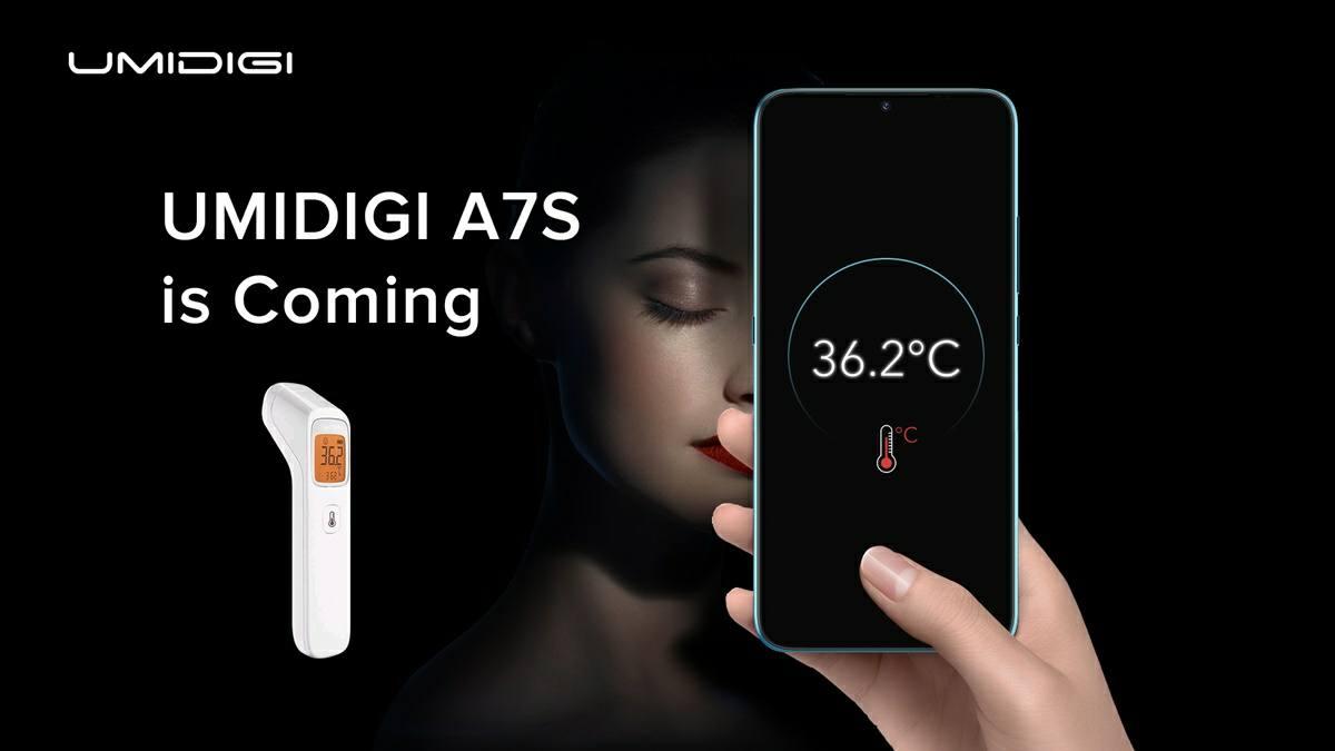 umidigi a7s termometro infrarrojo