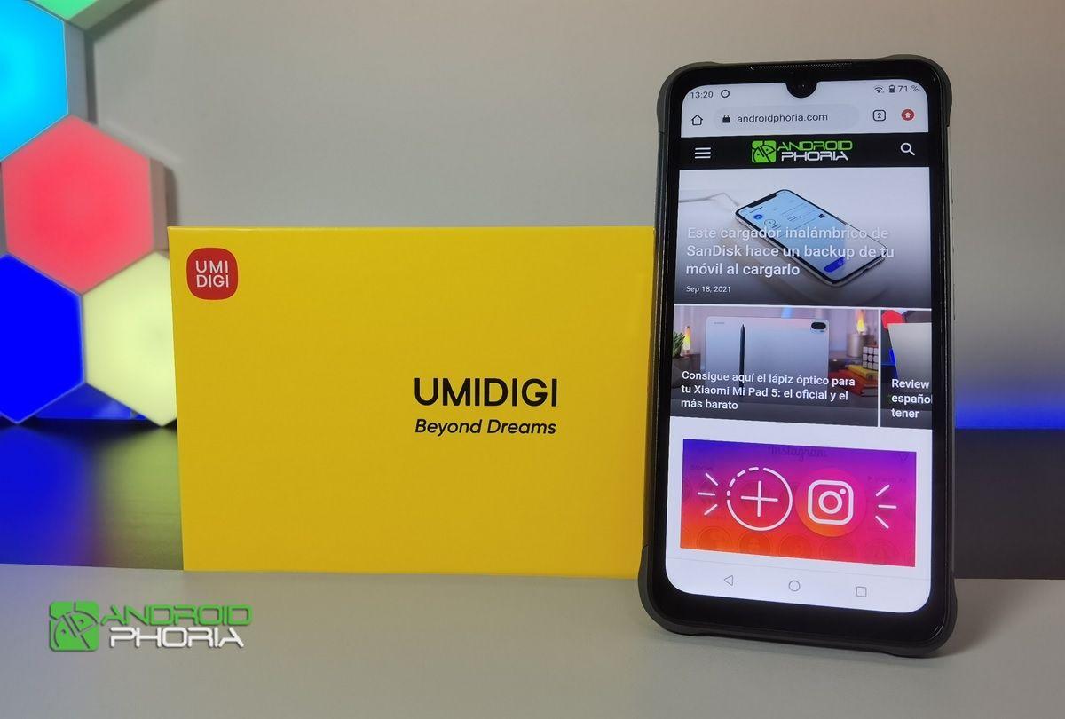 umidigi bison pro smartphone