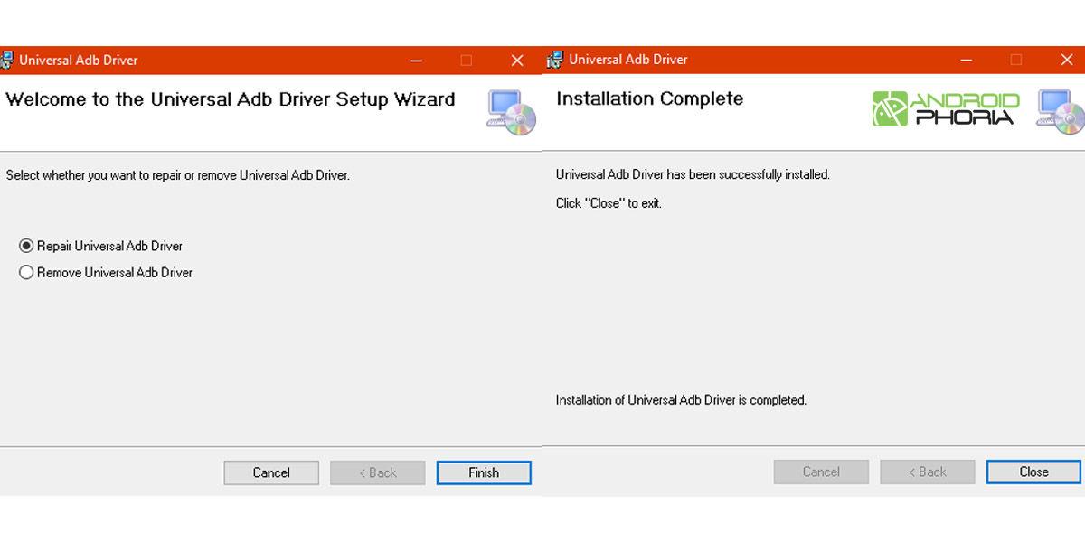 universal adb driver proceso instalar adb