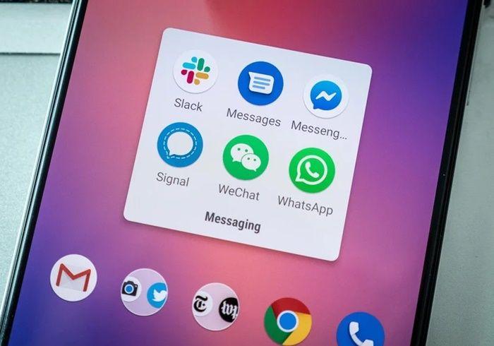 usa whatsapp o telegram en vez de mensajeria rcs
