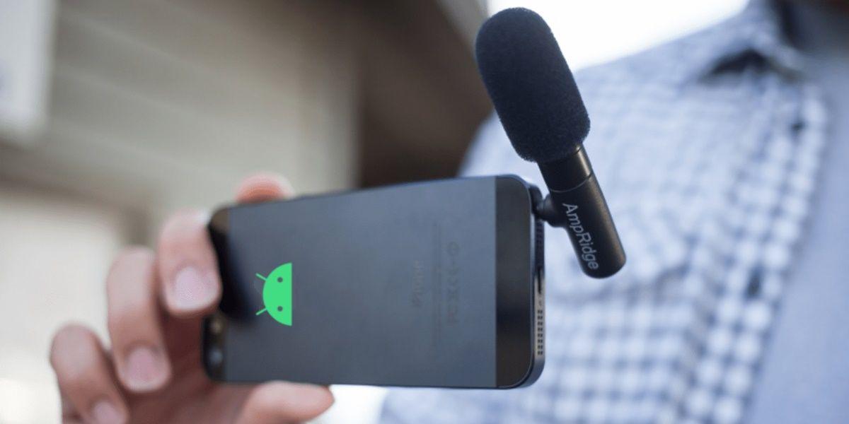 usar android como microfono inalámbrico