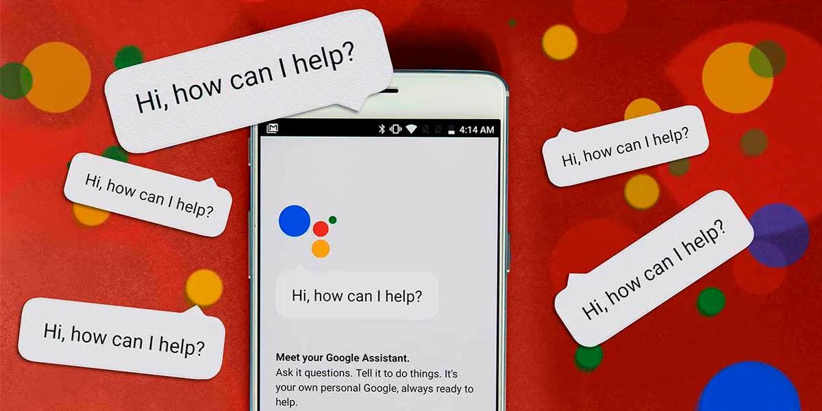 usar asistente de google