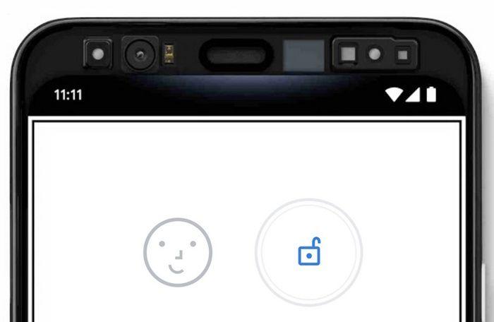 usar reconocimiento facial pixel 4 como huella dactilar