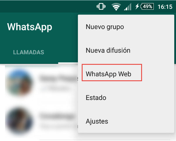 usar whatsapp en tablet sin sim1
