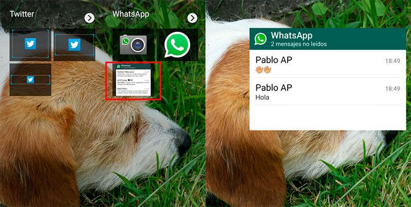 usar widget whatsapp para ocultar doble check azul