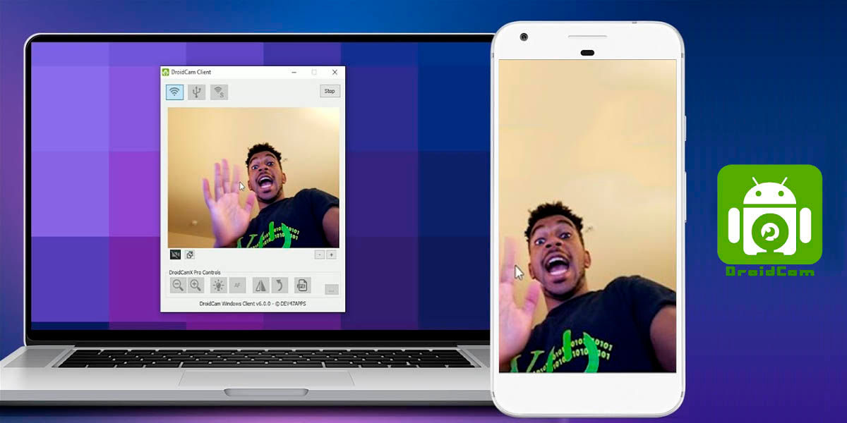utilizar móvil android como webcam pc 2020