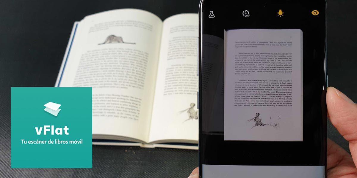 vFlat Scan la mejor app de Google Play Store para escanear documentos en papel de forma clara y limpia