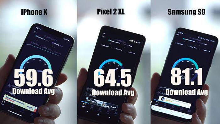 velocidad descarga capada iphone