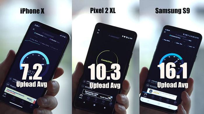 velocidad subida capada iphone
