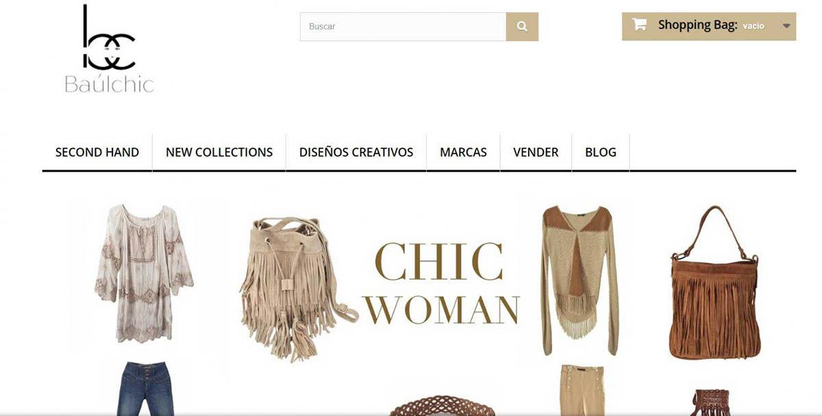 vender ropa usada Baul Chic