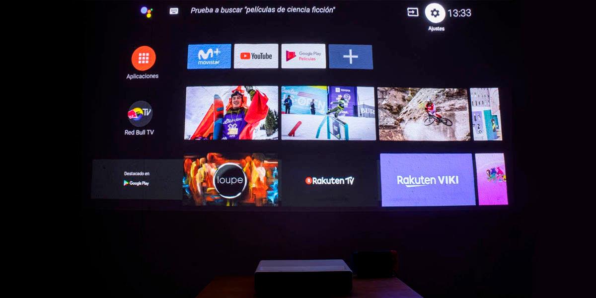 ventajas de un proyector con android tv