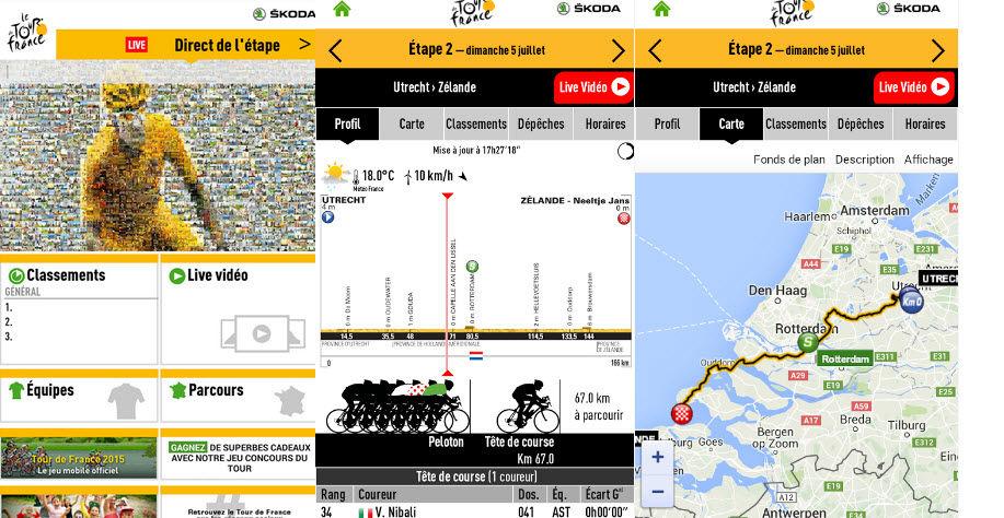 ver el Tour de francia en android1
