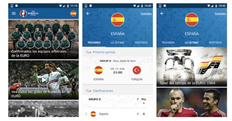 ver eurocopa 2016 android