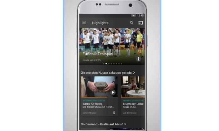 ver la TV en directo y gratis en Android