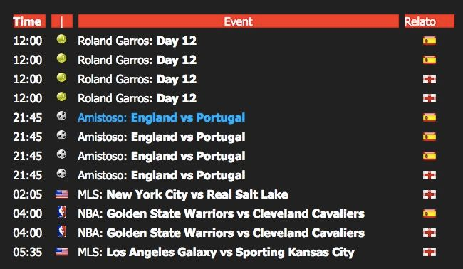 ver partidos eurocopa en android