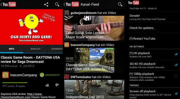 ver videos de youtube en hd android1