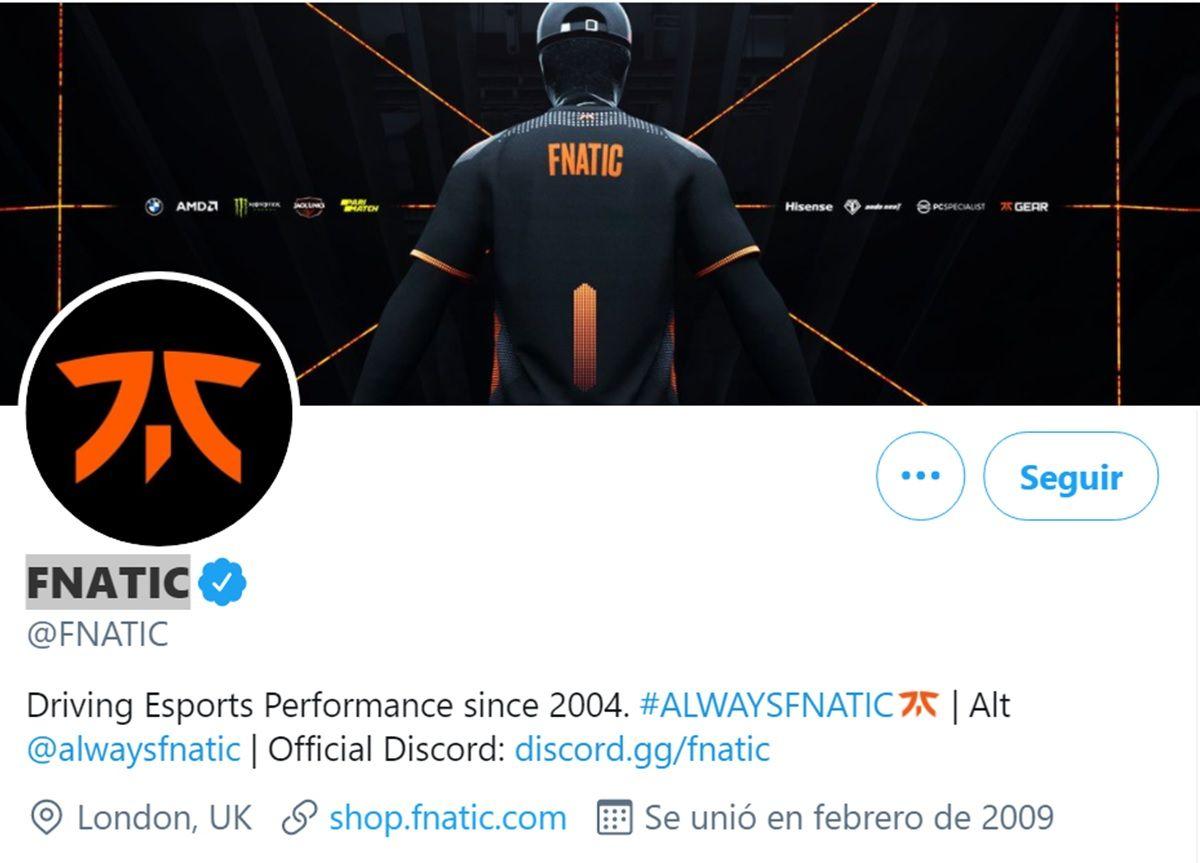 verificacion twitter de cuenta de esports