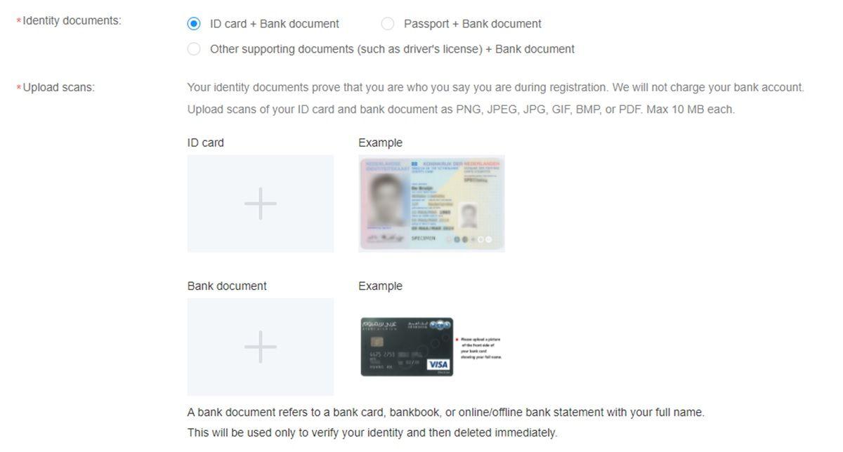 verificar identidad en Huawei developers