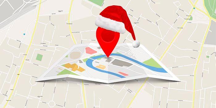 viajar Google Maps navidad