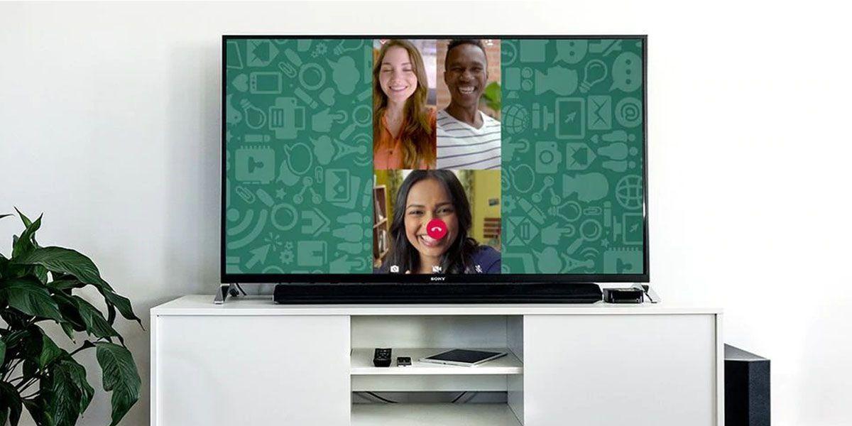 videollamada whatsapp smart tv