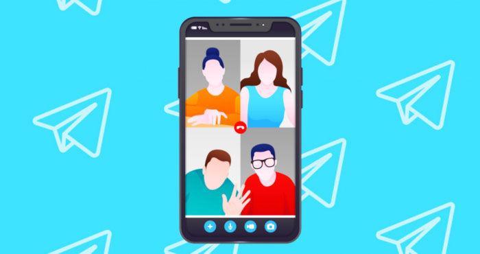 videollamadas telegram