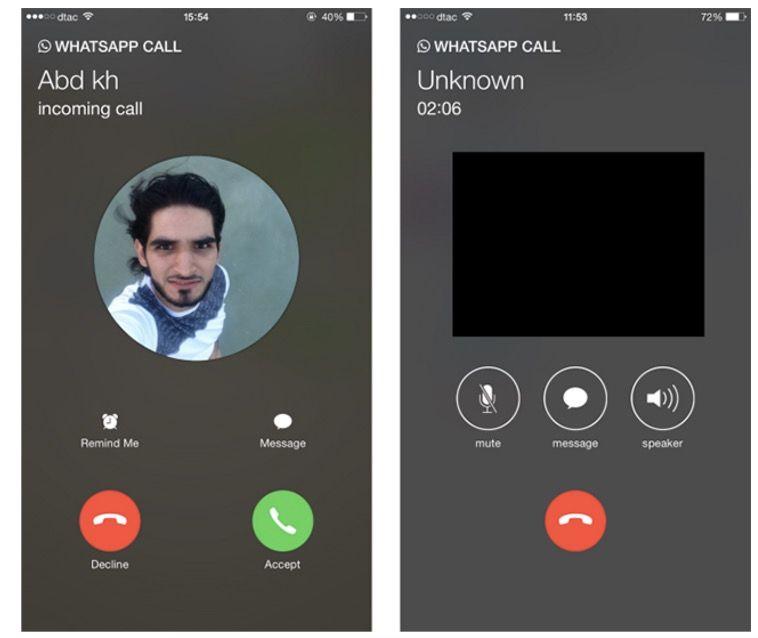 videollamadas whatsapp ios