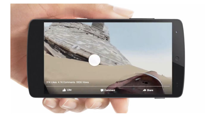 videos 360 grados en facebook