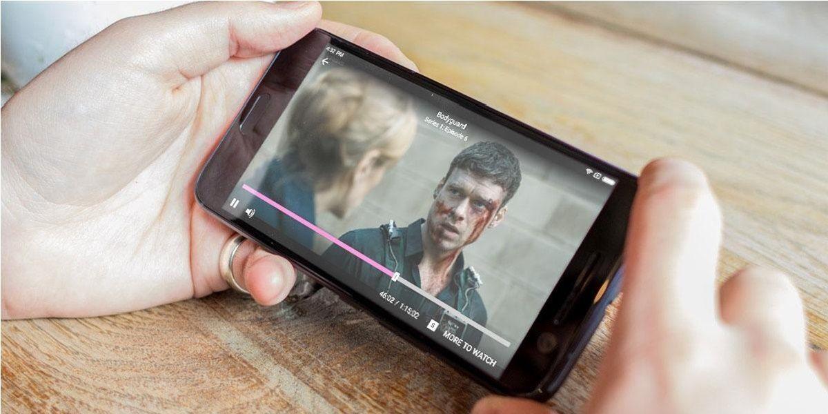viendo pelicula en android