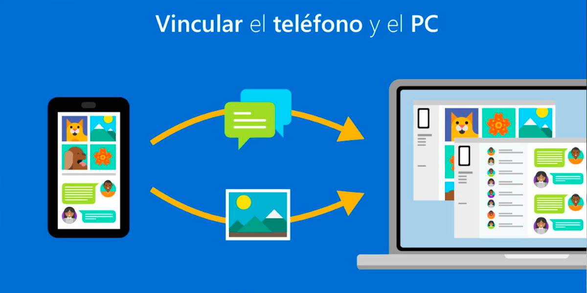 vincular Samsung Galaxy y Windows 10