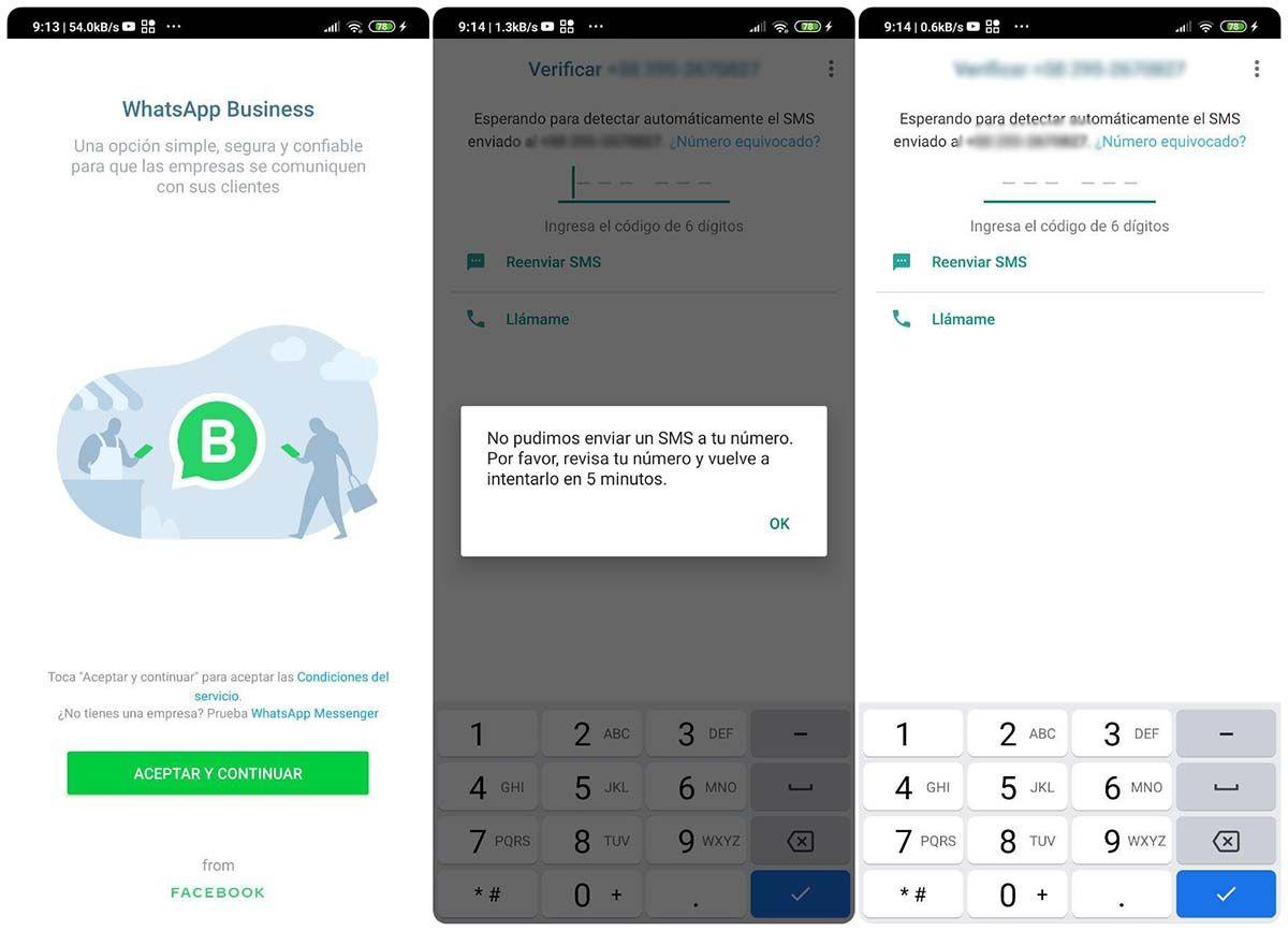 vincular numero fijo a whatsapp business