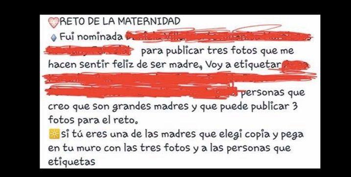 viral reto maternidad