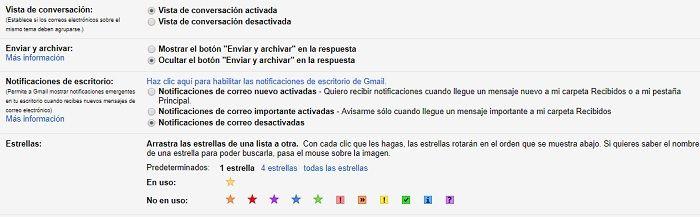 vista de conversacion gmail