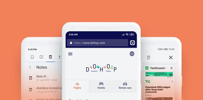 vivaldi mobile