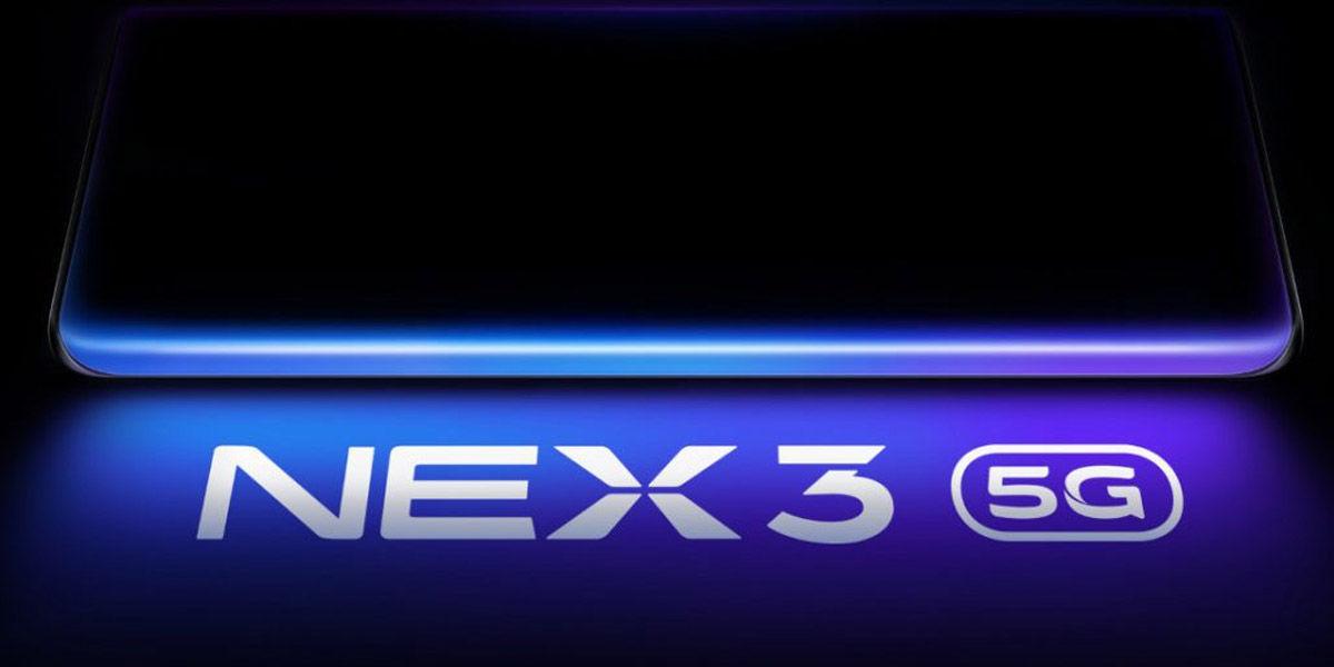 vivo nex 3 5g pantalla cascada snapdragon 855 plus septiembre