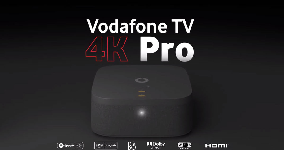 Vodafone TV 4K Pro diseño