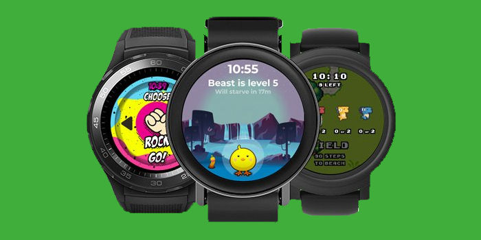 watchfaces juegos wear os tizen