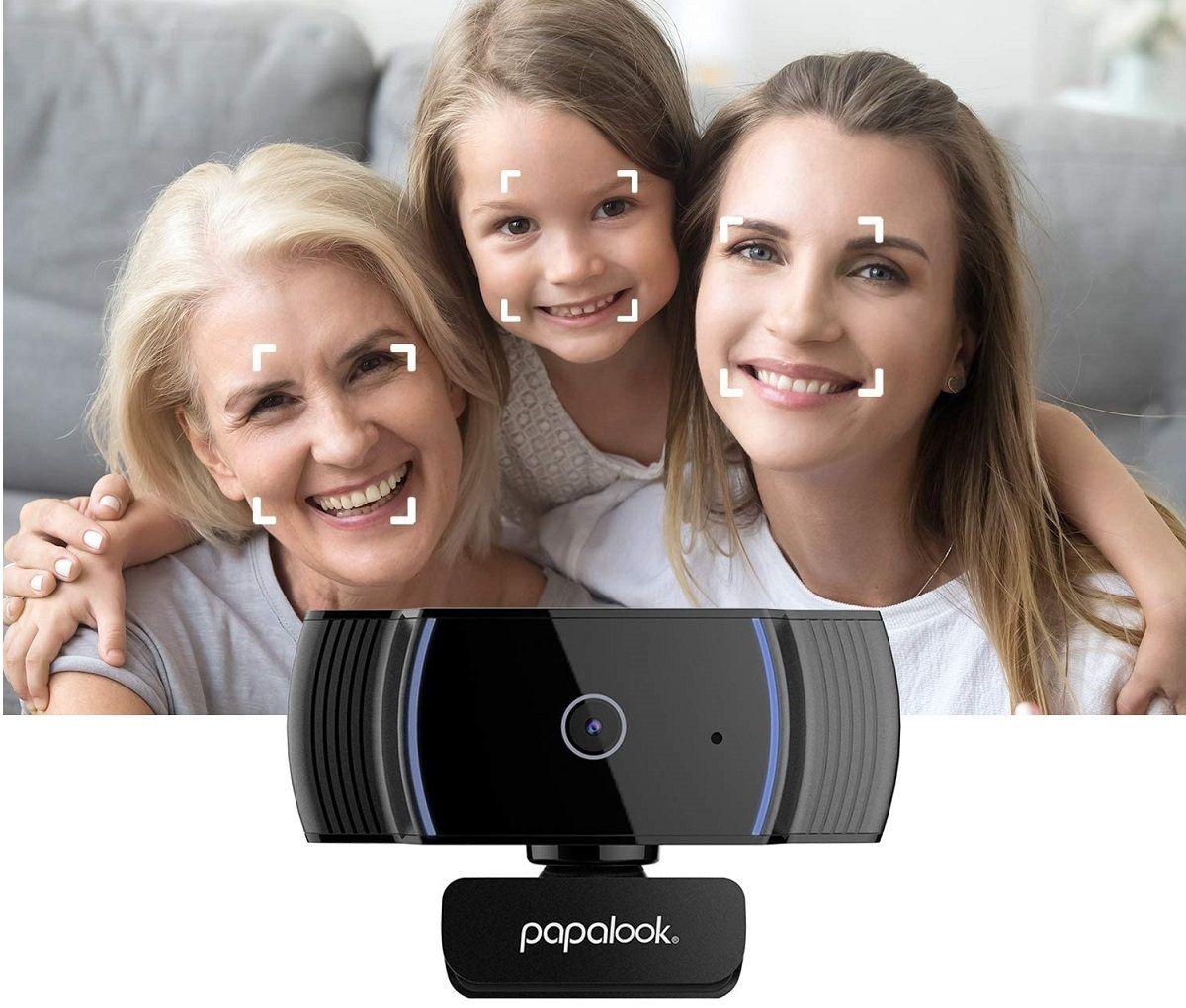 Papalook Webcam 1080P