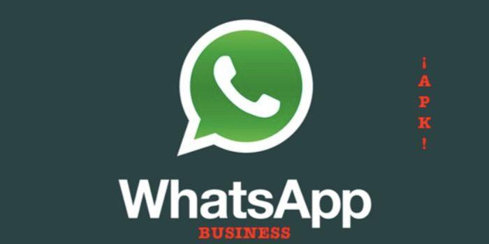 descargar whatsapp business android apk