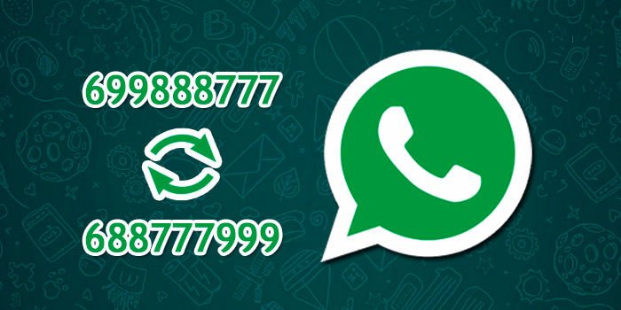 WhatsApp cambio número notificación