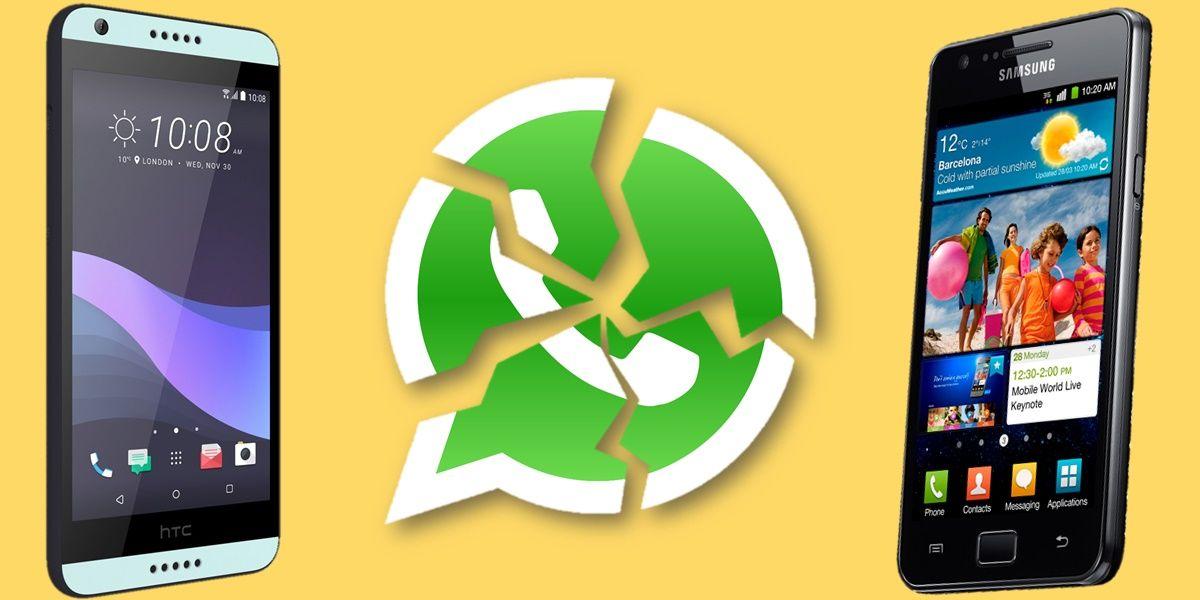 whatsapp dejara de funcionar en estos moviles en 2021