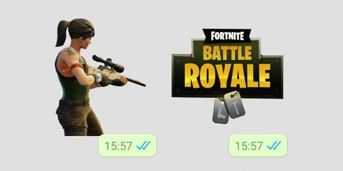 whatsapp fortnite