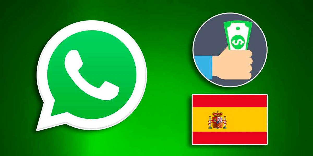 whatsapp payments en españa