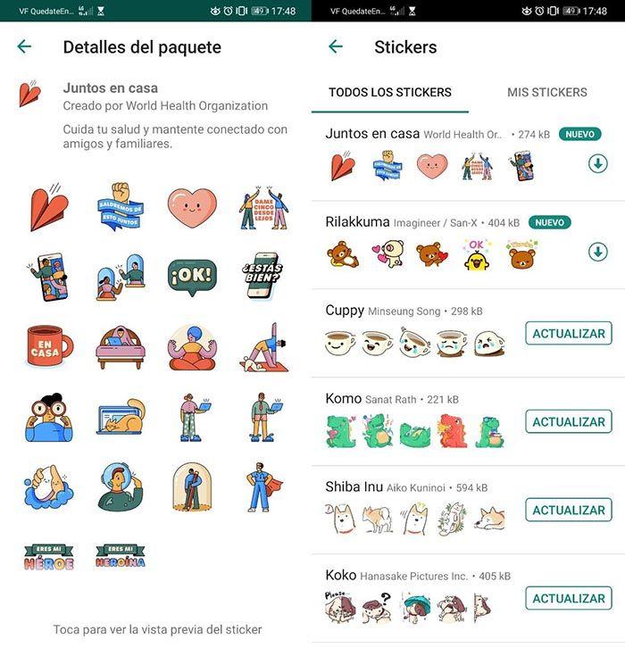 whatsapp stickers covid 19