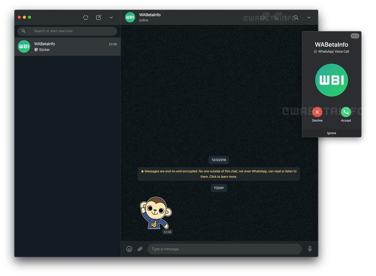 whatsapp web hacer videollamadas 2
