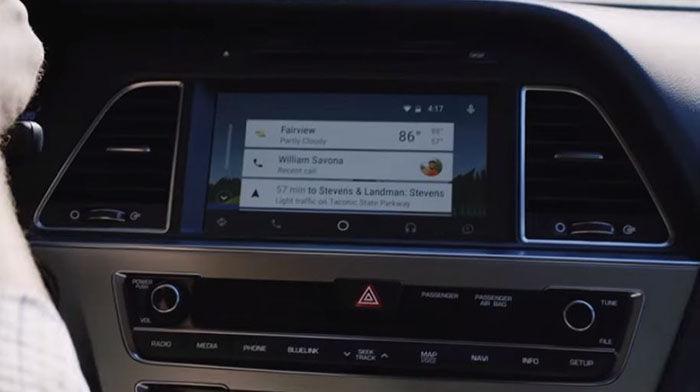 Widget Android Auto
